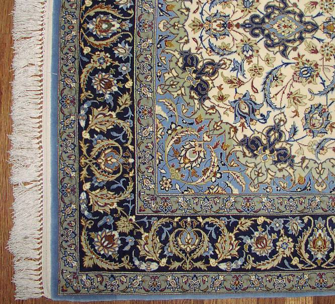 This Is A Shot Of The Corner Rug Showing Marvelous Detail In