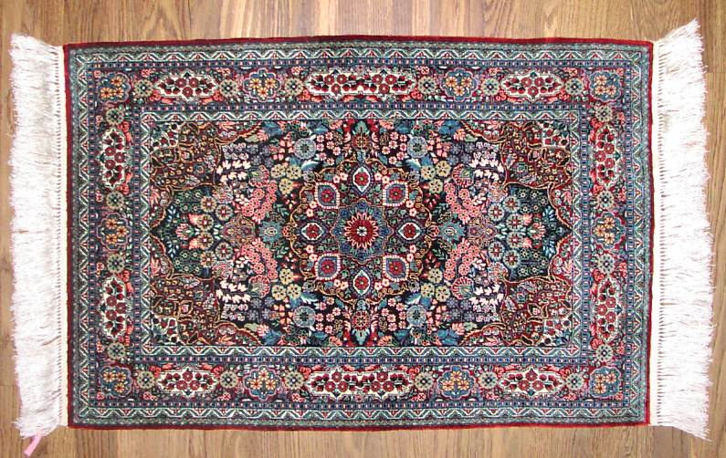 Turkish Silk Hereke 2 X 3 730 Kpsi 70 Raj